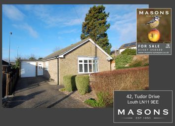 Thumbnail 2 bed detached bungalow for sale in Tudor Drive, Louth