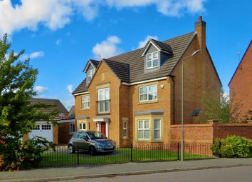 Thumbnail 6 bed detached house for sale in Booth Drive, Ashbourne
