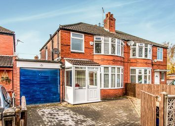 Thumbnail 3 bedroom semi-detached house for sale in Parrs Wood Road, Withington, Manchester
