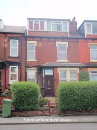 Thumbnail 3 bedroom terraced house to rent in Strathmore Terrace, Leeds