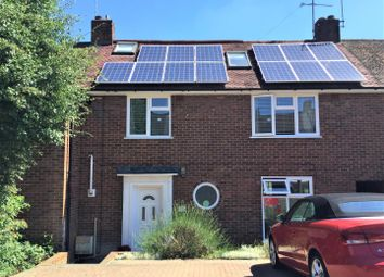 Thumbnail 3 bed terraced house for sale in Cottonmill Lane, St. Albans, Hertfordshire