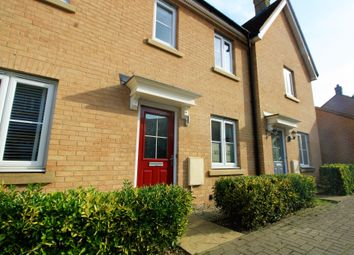 Thumbnail 2 bed terraced house to rent in Kirk Way, Colchester