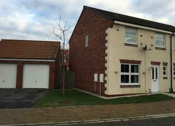 Thumbnail 3 bed semi-detached house to rent in The Lanes, Darlington, County Durham