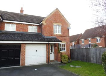 Thumbnail 3 bed semi-detached house to rent in Woodlands, Grange Park, Northampton