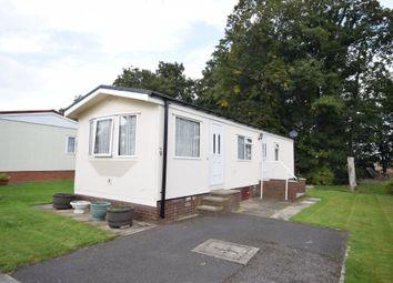 Thumbnail 2 bed mobile/park home for sale in Park Villas, Park Villas Drive, Pontefract