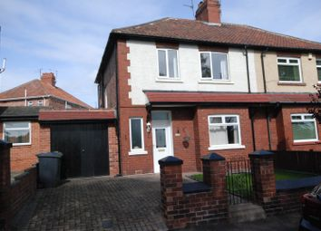 Thumbnail 3 bed semi-detached house for sale in Field Terrace, Jarrow