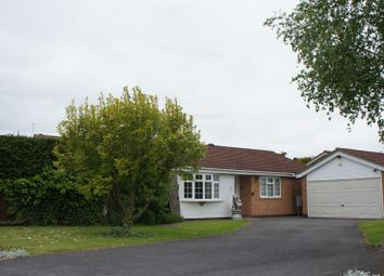 Thumbnail 3 bed detached bungalow for sale in Wooldale Close, Anstey, Leicester