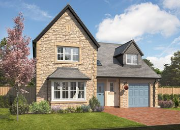 "Thumbnail 4 bed detached house for sale in ""Taunton"" at Station Road, Longhoughton, Alnwick"
