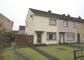 Thumbnail 2 bed end terrace house for sale in Auchenharvie Road, Saltcoats, North Ayrshire, Scotland