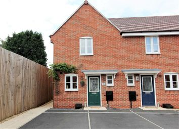 Thumbnail 2 bed town house for sale in Drew Court, Ashby-De-La-Zouch