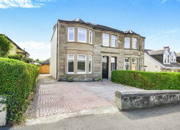 Thumbnail 4 bed semi-detached house for sale in Huntly Drive, Cambuslang, Glasgow