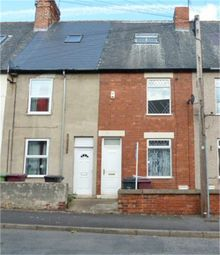 Thumbnail 3 bed terraced house for sale in John Street, Creswell, Worksop, Nottinghamshire