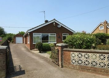 Thumbnail 3 bed detached bungalow for sale in Station Road, West Dereham, King's Lynn