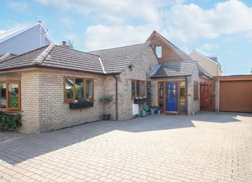 Thumbnail 4 bed detached bungalow for sale in Station Road, Willingham, Cambridge