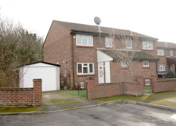 Thumbnail 3 bed end terrace house for sale in Gogmore Farm Close, Chertsey, Surrey