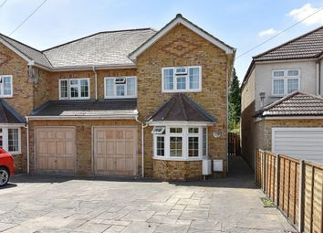 Thumbnail 4 bed detached house to rent in Langley Road, Langley, Slough