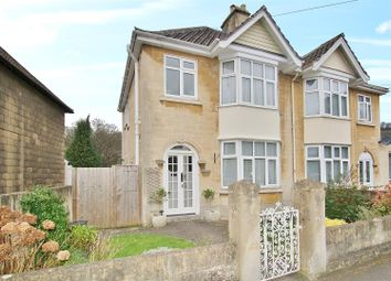 Thumbnail 3 bedroom semi-detached house for sale in St. Johns Road, Bathwick, Bath