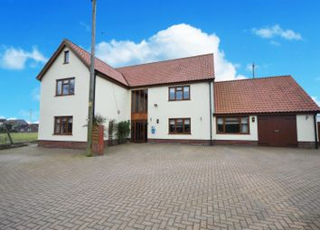 Thumbnail 5 bed detached house for sale in Poplar Road, Attleborough