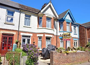 Thumbnail 3 bed terraced house for sale in Narrabeen Road, Cheriton, Folkestone, Kent