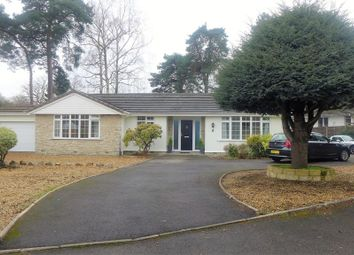 Thumbnail 4 bed detached bungalow for sale in Heather Drive, Ferndown