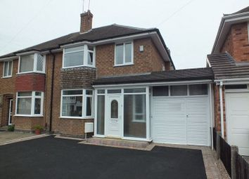 Thumbnail 3 bed semi-detached house to rent in Portia Avenue, Shirley, Solihull