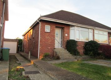 Thumbnail 2 bed semi-detached bungalow to rent in Dore Avenue, Portchester, Fareham