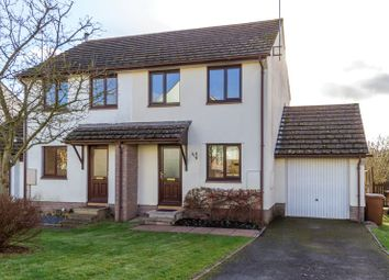 Thumbnail 2 bed semi-detached house to rent in Fernworthy Park, Copplestone, Crediton
