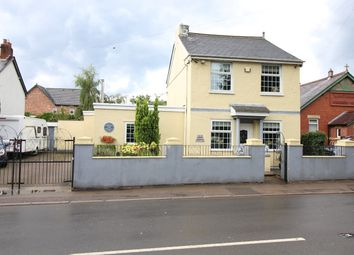 Thumbnail 3 bed detached house for sale in Newport Road, Llantarnam, Cwmbran