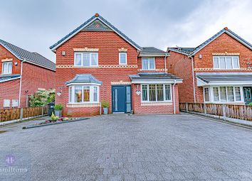 Thumbnail 4 bed detached house for sale in Caton Drive, Atherton, Manchester, Greater Manchester.