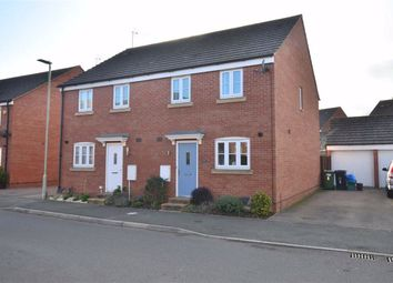 Thumbnail 3 bed semi-detached house for sale in Quayside Way, Hempsted, Gloucester