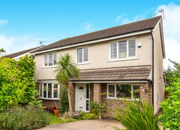 Thumbnail 4 bed detached house for sale in Glastonbury Road, Sully, Penarth