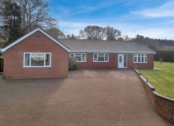 Thumbnail 4 bed bungalow for sale in Newcastle Road, Loggerheads, Market Drayton