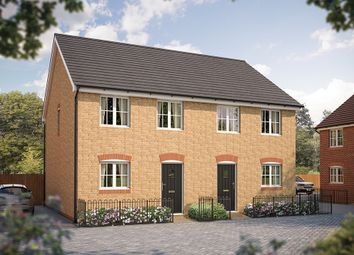 "Thumbnail 2 bed semi-detached house for sale in ""The Flitwick"" at Steppingley Road, Flitwick, Bedford"