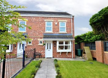 Thumbnail 4 bed semi-detached house for sale in Walton Gardens, Thorp Arch, Wetherby, West Yorkshire