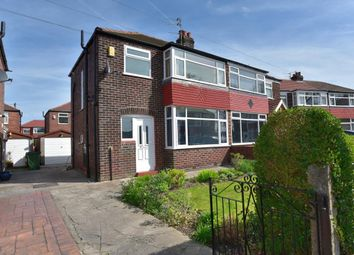 Thumbnail 3 bed semi-detached house for sale in Bossington Close, Offerton, Stockport