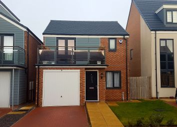 Thumbnail 3 bedroom detached house for sale in Greville Gardens, Newcastle Upon Tyne