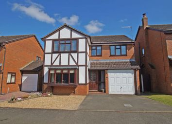 Thumbnail 4 bed detached house for sale in Fringe Green Close, Bromsgrove