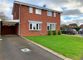 Thumbnail 2 bed semi-detached house for sale in Carisbrooke Drive, Stafford