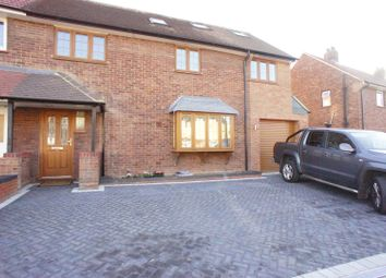 Thumbnail 5 bed semi-detached house for sale in Butlers Drive, London