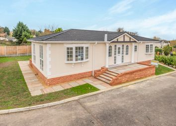 Thumbnail 2 bedroom mobile/park home for sale in The Firs Park, Woodside Lane, Brookmans Park, Hatfield