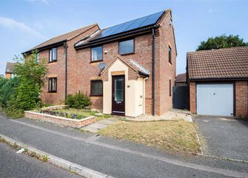 Thumbnail 3 bed semi-detached house to rent in Redding Grove, Crownhill, Milton Keynes