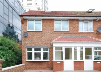 Thumbnail 3 bedroom end terrace house to rent in East Ferry Road, Canary Wharf