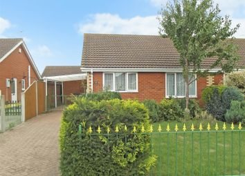 Thumbnail 2 bed semi-detached bungalow for sale in Meakers Way, Huttoft, Alford, Lincs.