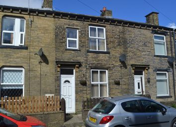 2 bed terraced house to rent in Alma Street, Queensbury, Bradford BD13