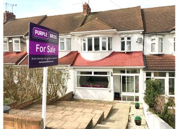 Thumbnail 3 bed terraced house for sale in Central Park Gardens, Chatham