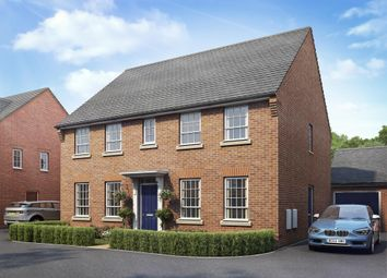 "Thumbnail 4 bed detached house for sale in ""Staunton"" at Warkton Lane, Barton Seagrave, Kettering"