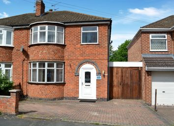 Thumbnail 3 bed semi-detached house for sale in Bradgate Drive, Wigston, Leicester