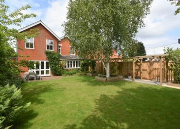 Thumbnail 4 bed detached house for sale in Andover Road, Newbury