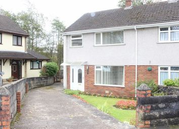 Thumbnail 3 bed semi-detached house for sale in Glasfryn Close, Cockett, Swansea