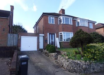 Thumbnail 3 bed semi-detached house to rent in Ingleboro Drive, Purley